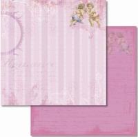 Premium Glitter Scrapbook paper Romantik 39