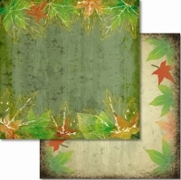 Premium Glitter Scrapbook paper Herbst 53