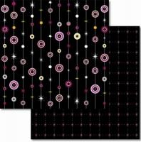Premium Glitter Scrapbook paper Traum 60