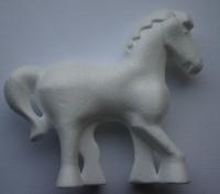 Styropor-Pferd 15x13,5cm