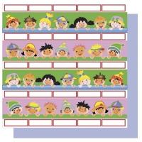 Scrapbooking Papier Kinderreihe (Restbestand)