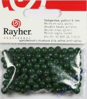 Rayher Holzperlen FSC, poliert 6mm 115St grün