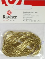Rayher Zackenkraus Bouillondraht 2mm