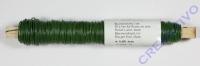 Blumendraht 0,65mm 100g dunkelgrün