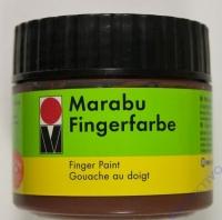 Marabu Fingerfarbe 100ml braun