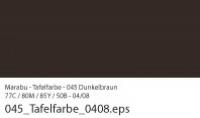 Marabu Tafelfarbe 100ml dunkelbraun (Restbestand)