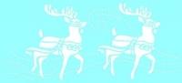 Marabu Schablone 15x33cm Deer walk