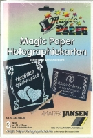 Magic Paper Holographiekarton (Restbestand)