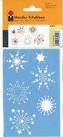 Marabu Schablone 10x15cm Stars