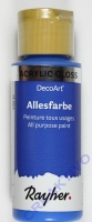 Rayher Multi Gloss 59ml azurblau