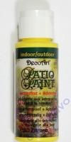 Rayher Patio Paint 59ml zitrone