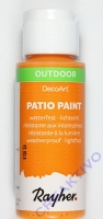 Rayher Patio Paint 59ml mandarine