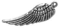 Rockstars Metall-Anhänger Flügel 28mm Öse 1mm