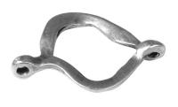 Rockstars Metall-Zierelement 19mm Öse 1mm