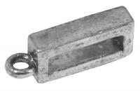 Rockstars Schmuckverschluss 0,9x1,9x0,5mm