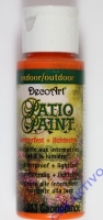 Rayher Patio Paint 59ml capriorange