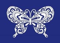 My Style Schablone DIN A4 Schmetterling (Restbestand)