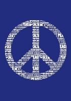 My Style Schablone DIN A4 Peace (Restbestand)