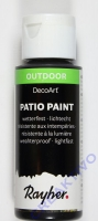Rayher Patio Paint 59ml schwarz