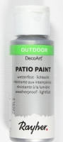 Rayher Patio Paint 59ml brill.silber