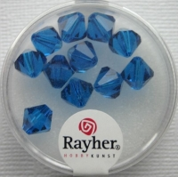 Swarovski Kristall-Schliffperlen 8mm 11St nachtblau