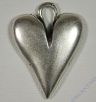 Pracht Metall-Anhänger Herz groß