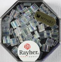 Miyuki Perle Tila transparent mondstein regenbogen