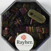 Miyuki Perle Tila transparent klassikrot regenbogen