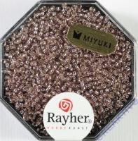 Premium Rocailles mit Silbereinzug 1,5mm rosa Chiffon