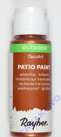Rayher Patio Paint 59ml brill.kupfer