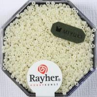 Premium Rocailles opak gelüstert 1,5mm perlmutt