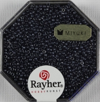 Premium Rocailles metallic 1,5mm anthrazit