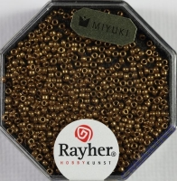 Premium Rocailles metallic 1,5mm kupfergold