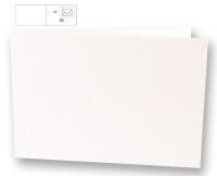 Karte B6 quer 232x168mm 220g weiß