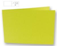 Karte B6 quer 232x168mm 220g lindgrün