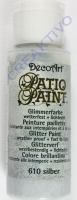 Rayher Patio Paint Glimmer 59ml brill.silber