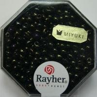 Miyuki-Perle-Drop metallic 3,4mm antikolive