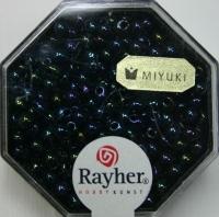 Miyuki-Perle-Drop metallic 3,4mm blutstein