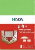 Clip Clap Aufsteller Querformat hellgrün (Restbestand)