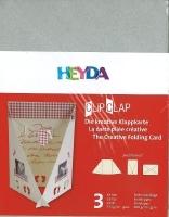 Clip Clap Aufsteller Hochformat silber (Restbestand)