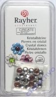 Hot-Fix Swarovski Kristallsteine kristall 4 mm  20 Stück