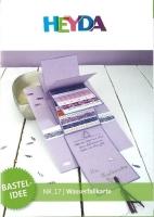 Heyda Bastelidee Nr. 17 - Wasserfallkarte (Download)