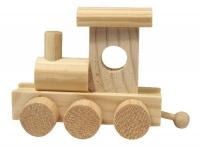 Rayher Eisenbahn Holz-Lok für Buchstabenzug