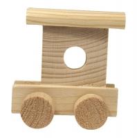 Rayher Holz-Schlusswagen für Buchstabenzug