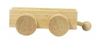 Rayher Holz-Wagen für Buchstabenzug