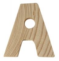 Rayher Holzbuchstabe für Buchstabenzug A