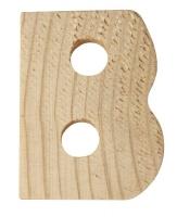Rayher Holzbuchstabe für Buchstabenzug B