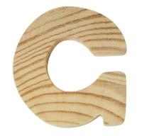 Rayher Holzbuchstabe für Buchstabenzug G