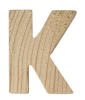Rayher Holzbuchstabe für Buchstabenzug K