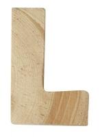 Rayher Holzbuchstabe für Buchstabenzug L